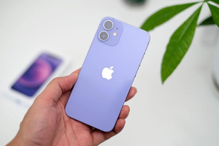 màu iphone 12 mini