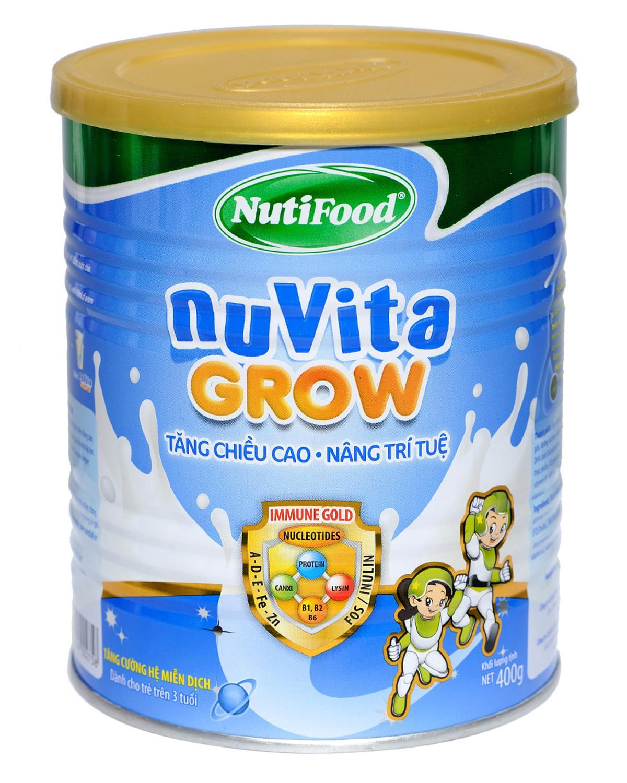 Nuvita Grow sở hữu công thức Immune Gold