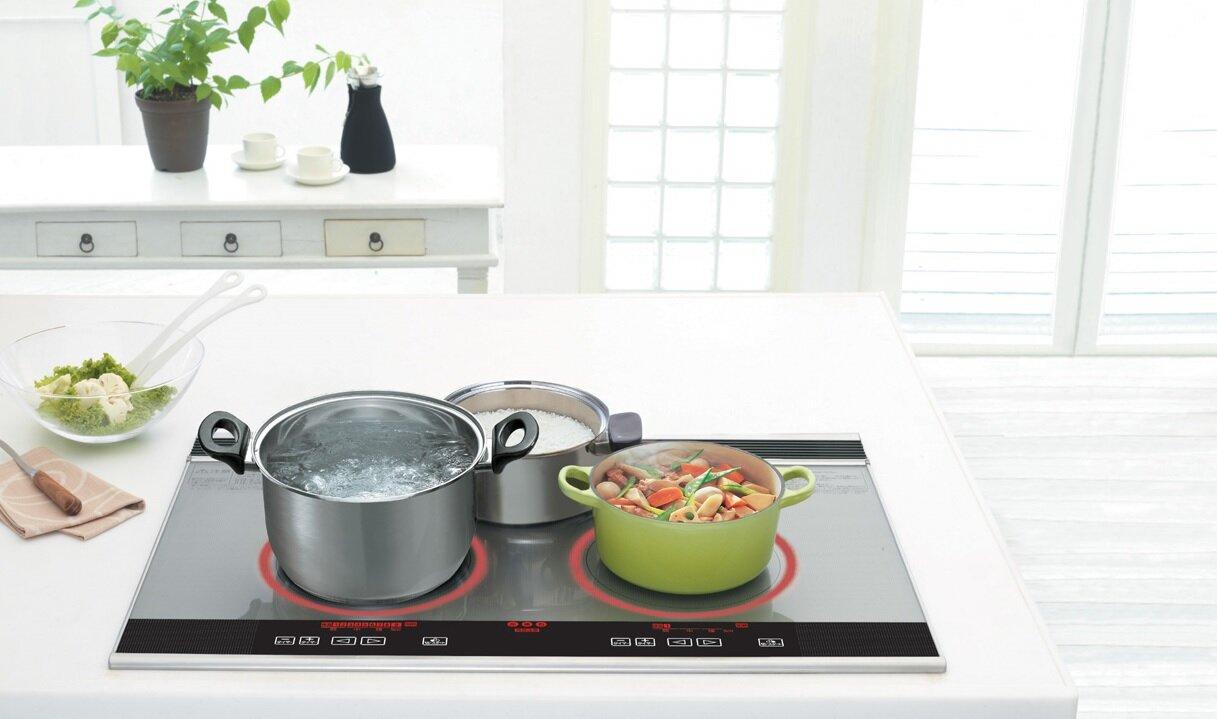 Bếp từ Nhật được đánh giá cao ở độ bền và tính năng tiết kiệm điện ưu việt