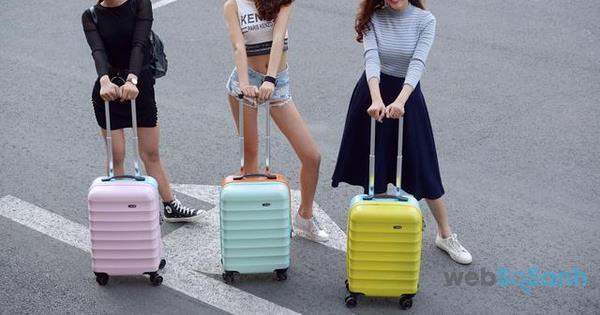 vali kéo nhựa trẻ trung
