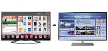 So sánh Smart Tivi LED 3D LG 42LA6200 và Smart Tivi LED Toshiba 50L4300