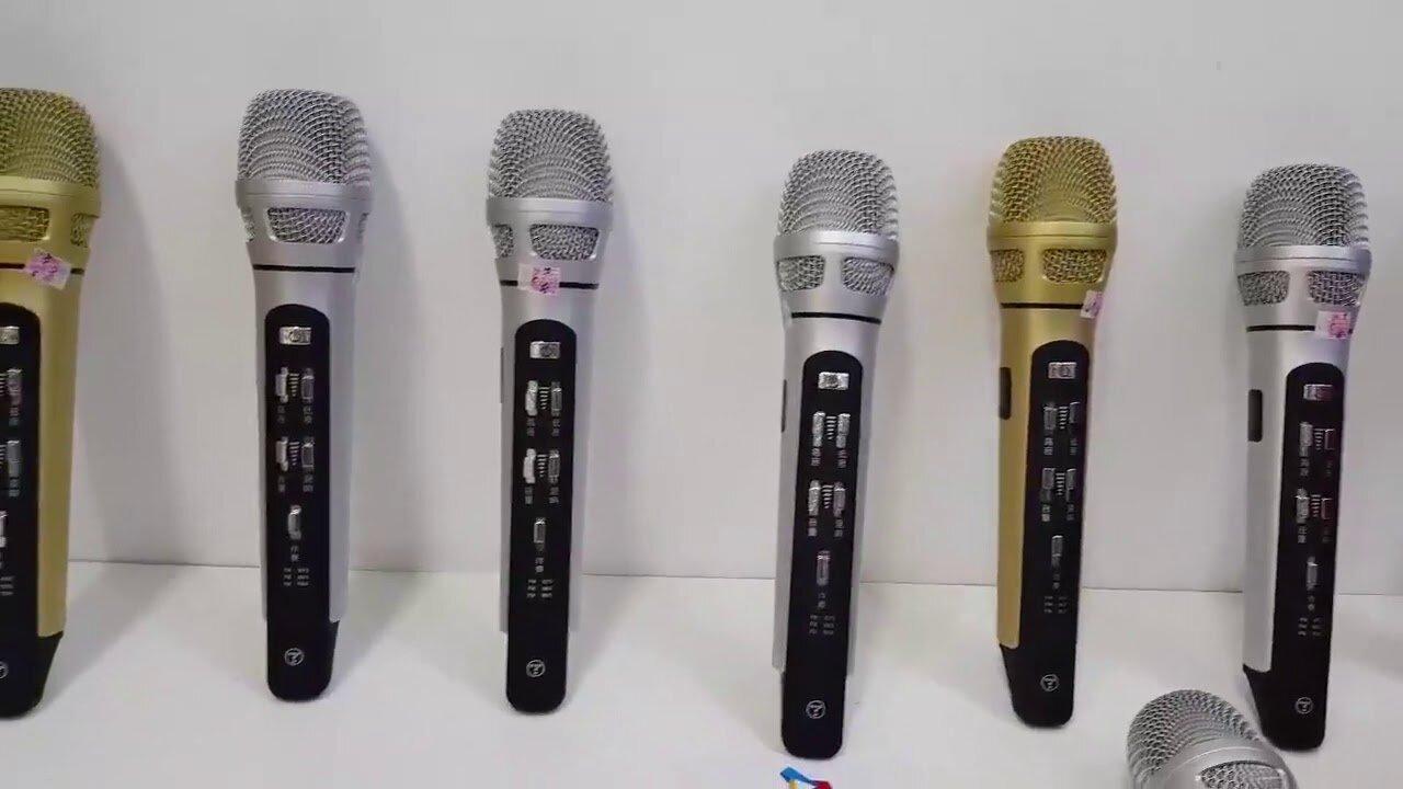 Micro bluetooth hát kara trên điện thoại Tuxun K9