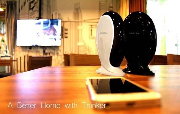 thiết bị nhà thông minh geeklink thinker