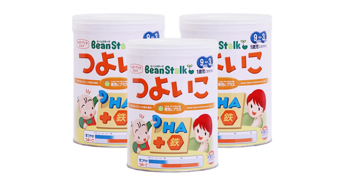 Sữa bột Beanstalk có tốt không?