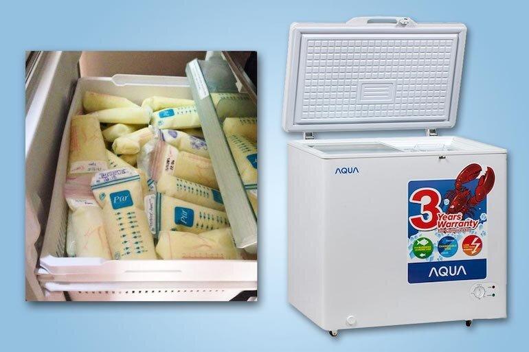 Lý do nên sử dụng tủ đông mini trữ sữa cho bé