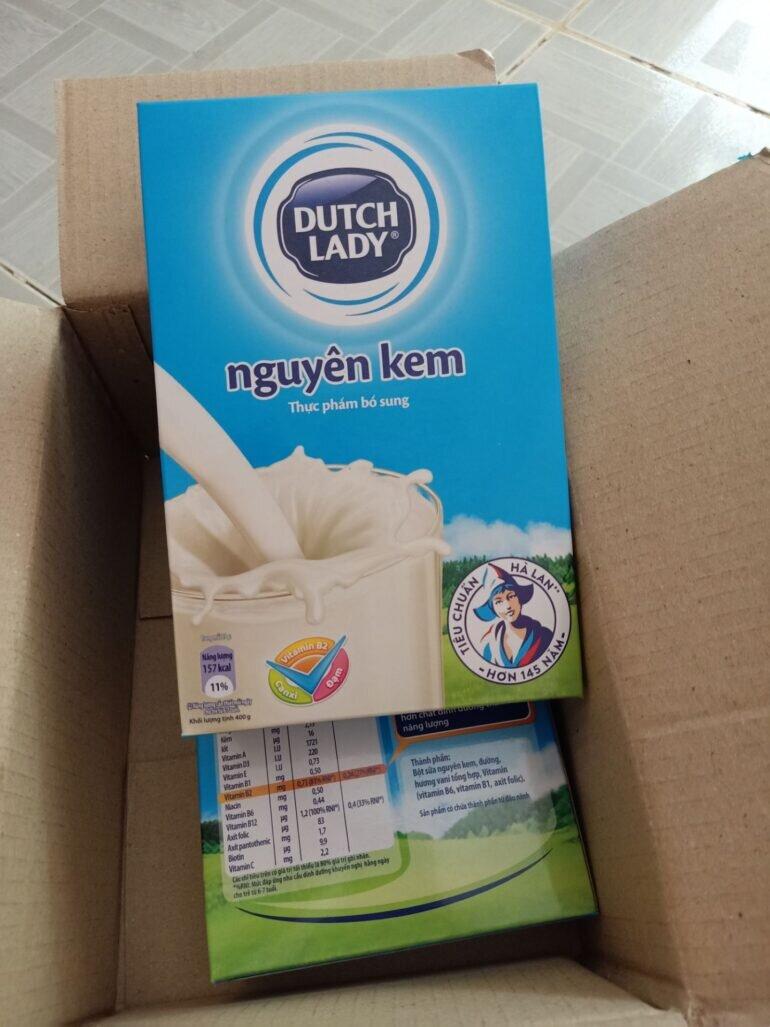 Hương vị sữa bột nguyên kem Cô Gái Hà Lan thế nào?