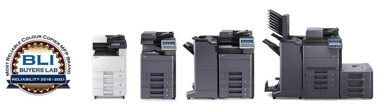Bạn có nhiều lựa chọn máy photocopy Kyocera.