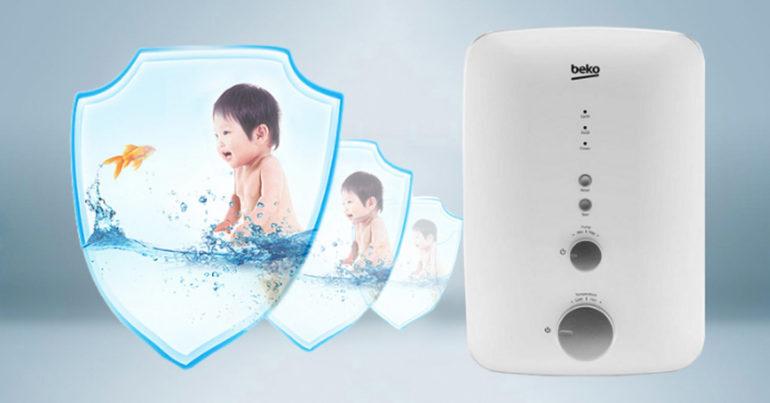 Máy nước nóng - Bình tắm nóng lạnh Beko của nước nào sản xuất ?