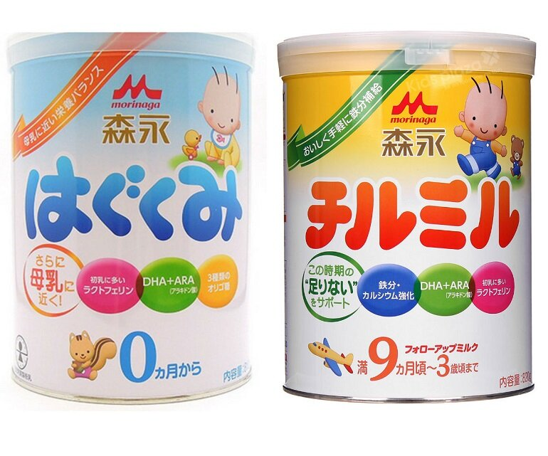 Sữa công thức nào không chứa dầu cọ dành cho trẻ?