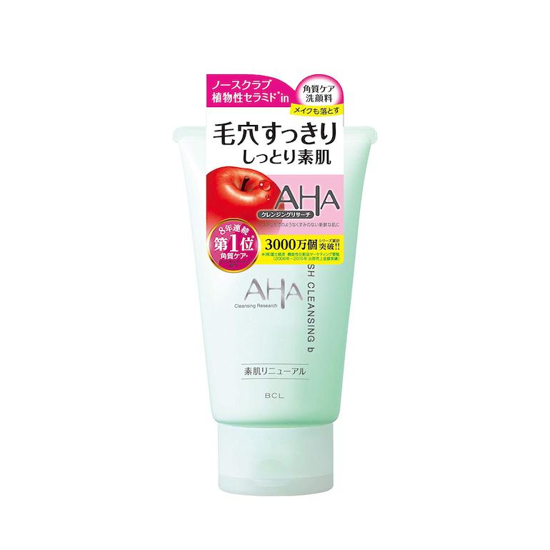 Review 4 loại sữa rửa mặt AHA Nhật Bản