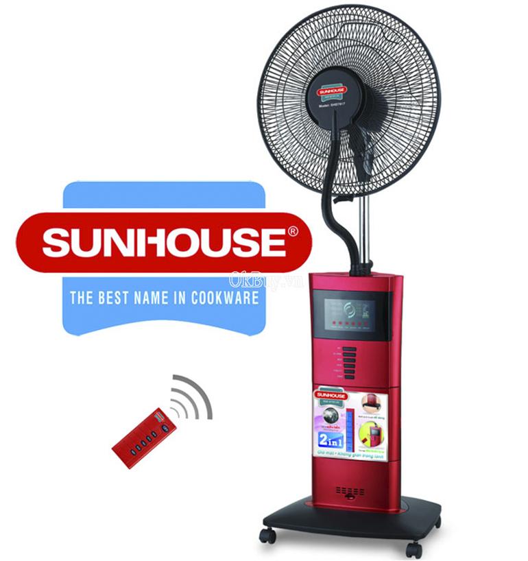 Quạt phun sương Sunhouse giá hạt rẻ chỉ 990k có tốt không ?