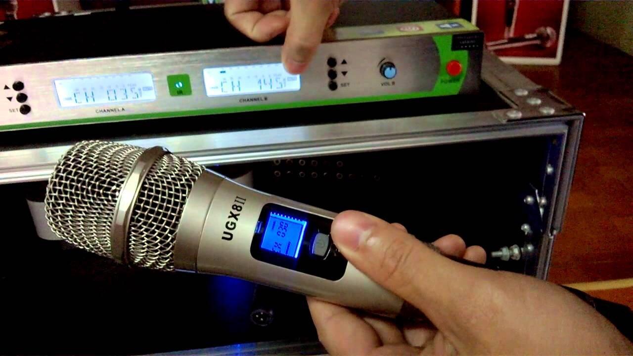 Micro Shure UGX8 II tiện lợi