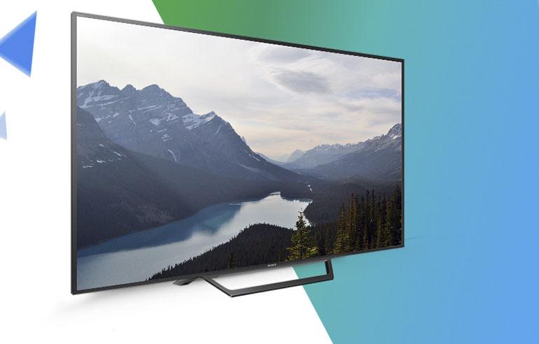 Internet Tivi Sony 32 Inch KDL 32W600D thiết kế mỏng, gọn nhẹ sang trọng và đẳng cấp