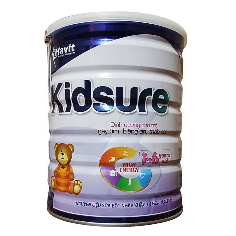 Sữa Kidsure được Viện dinh dưỡng khuyên dùng cho bé biếng ăn