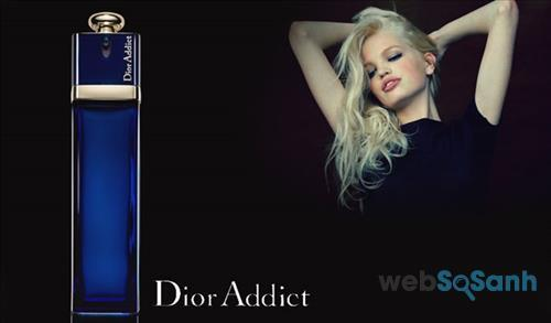 Chai nước hoa Dior Addict Eau de parfum mang dáng vẻ huyền bí và quyến rũ