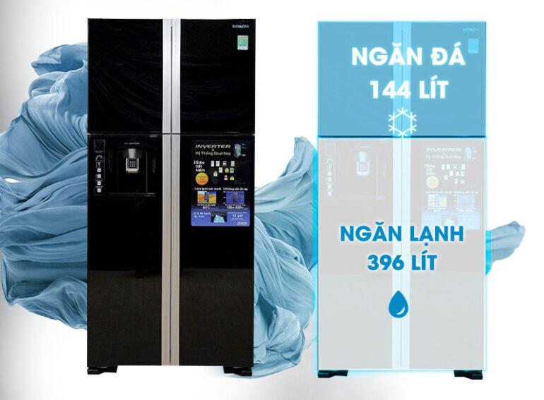 Ưu điểm của tủ lạnh Side by Side Hitachi