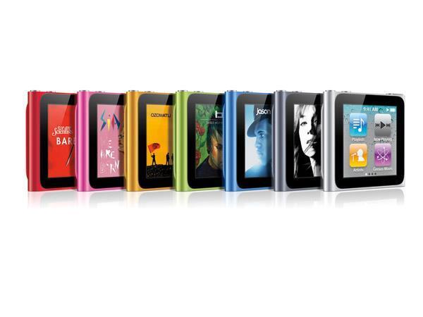 Bạn sẽ có nhiều lựa chọn màu sắc với iPod Nano Gen 6