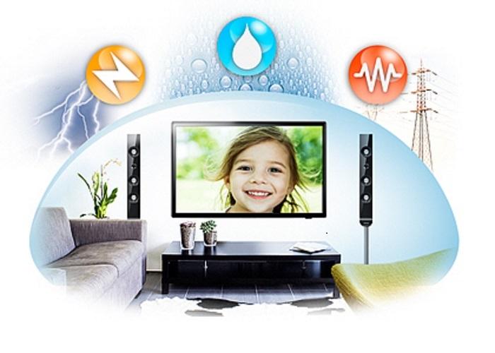 công nghệ bảo vệ triple protection trên tivi samsung