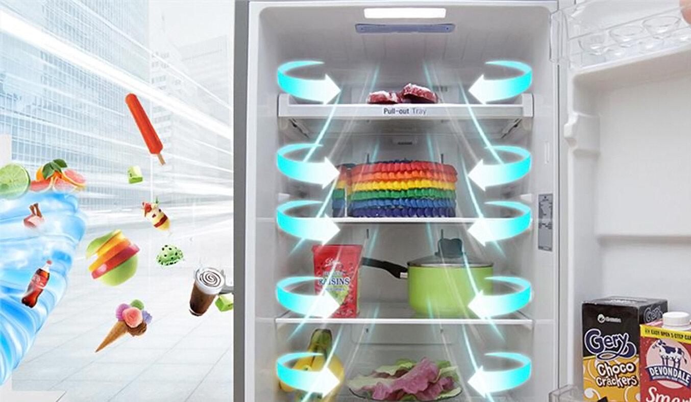 Tủ lạnh có khả năng làm lạnh nhanh và tiết kiệm điện