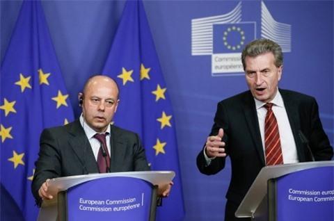 EU đã cam kết hỗ trợ Ukraine trong trường hợp nước này rơi vào khủng hoảng năng lượng.