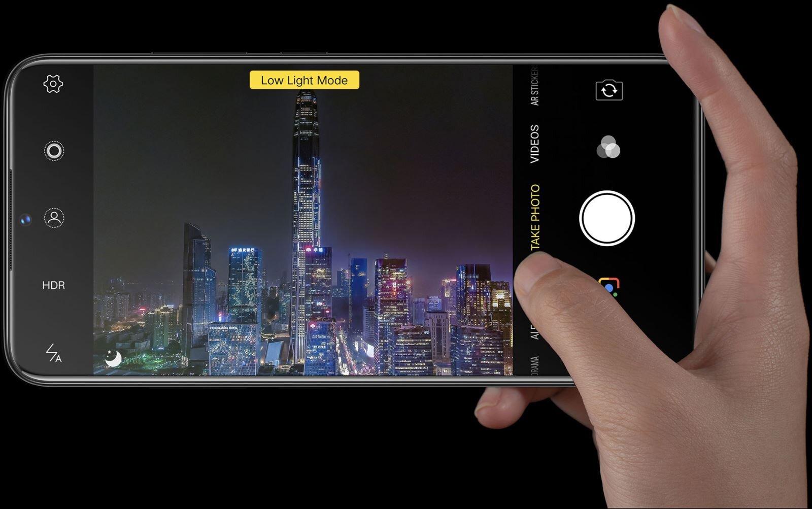 Điện thoại Vivo V11i sở hữu camera chụp ảnh ban đêm