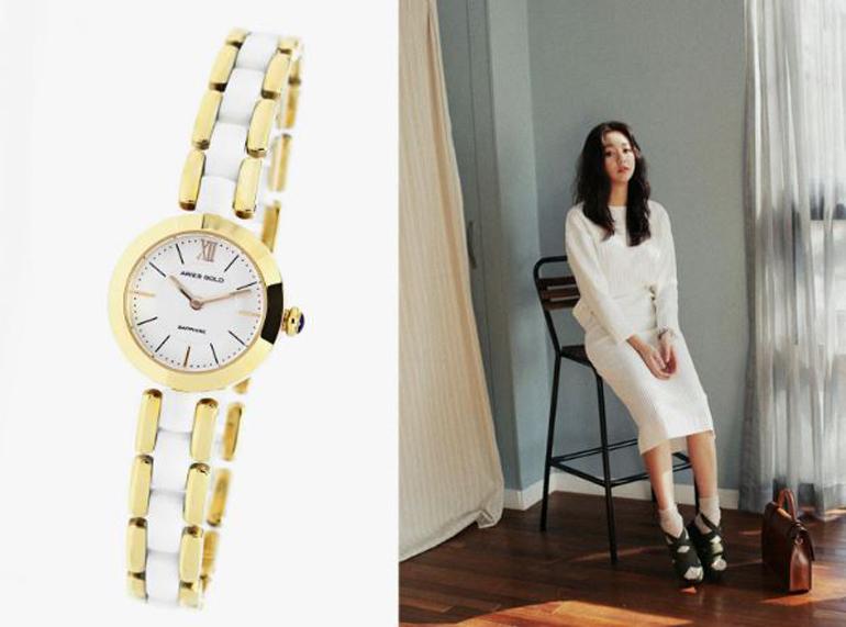 đồng hồ đăng quang watch Aries gold : AG-L89035L G-WHITE