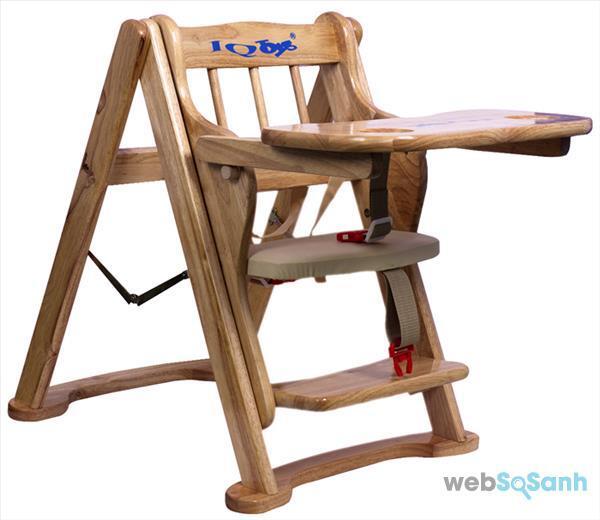 Ghế ăn dặm bằng gỗ có giá khá cao