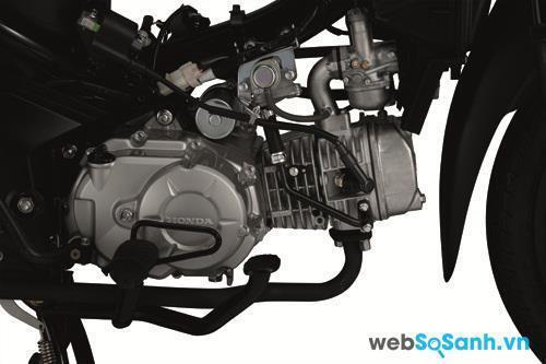 Động cơ xăng trên Honda Wave S