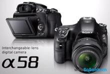 Đánh giá máy ảnh Sony A58