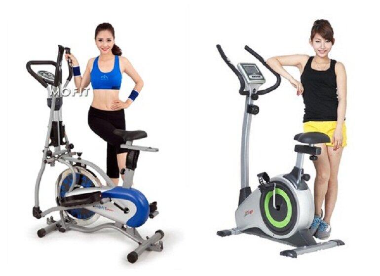 Xe đạp tập thể dục là dụng cụ tập luyện được nhiều người lựa chọn