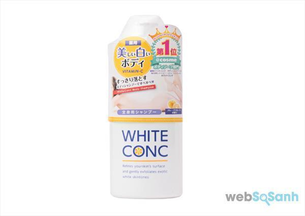 Sữa tắm trắng Body CC Cream Vitamin C White Conc Nhật Bản