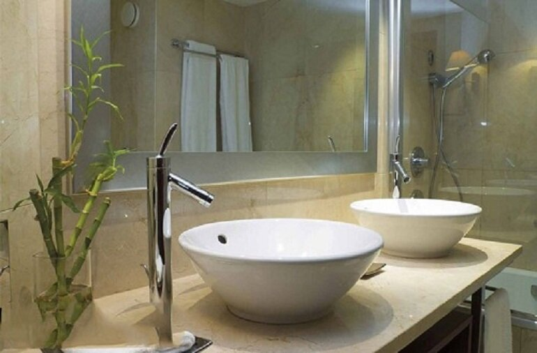 Chậu rửa mặt treo tường được sử dụng phổ biến nhất