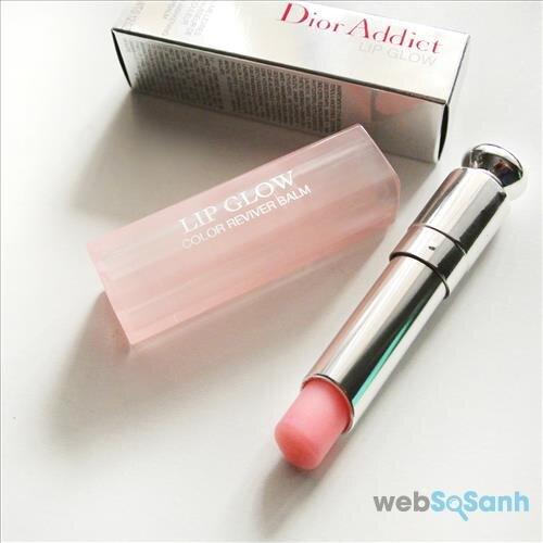 Cây son Dior Lip Glow vừa dưỡng tốt lại vừa lên màu đẹp