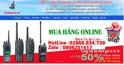 Hoàng Gia Supply chuyên phân phối máy bộ đàm giá rẻ có chất lượng tốt nhất toàn quốc