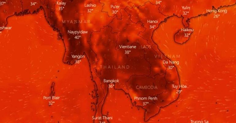 Thời tiết thay đổi thất thường nắng nóng sẽ kéo dài tới hết tháng 9 năm 2019 còn mưa bão sẽ tới muộn vào cuối năm