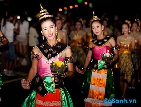 Lễ Cầu Trăng ở Thái Lan