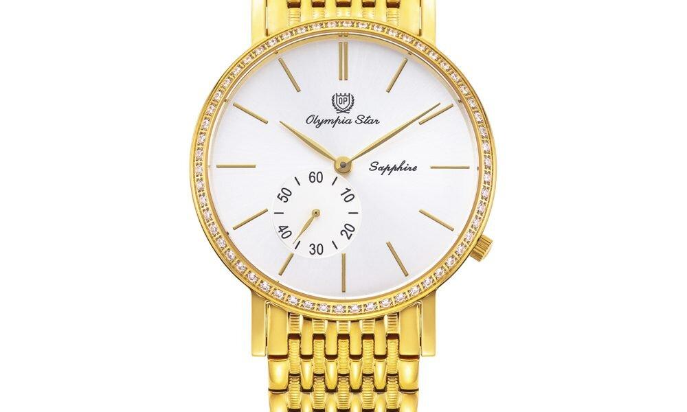 Top 7 đồng hồ Olympia Star nữ mạ vàng cho quý cô mệnh kim (p3)