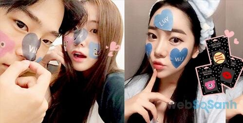 Mặt nạ sticker
