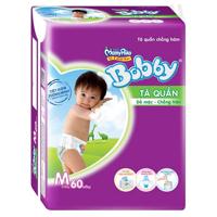Tã quần Bobby Fresh M60 (dành cho trẻ từ 6-10kg)