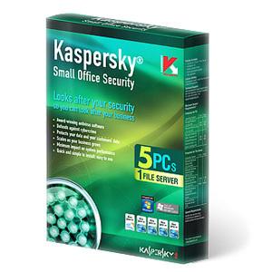 Phần mềm diệt virut Kaspersky Small Office Security (1 Server + 05 máy...