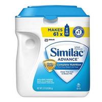 Sữa bột Abbott Similac Advance Complete Nutrition - hộp 964g (dành cho trẻ từ 0 - 12 tháng tuổi)
