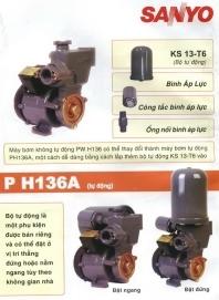 Máy bơm nước Sanyo PW-H136V