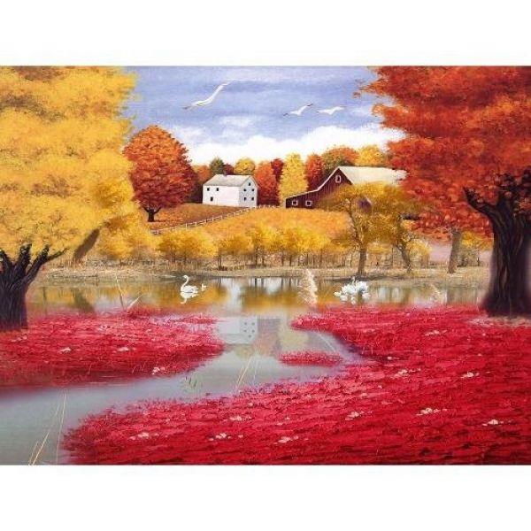Tranh in canvas VTC LunaCV-0234 - cảnh đẹp thiên nhiên, 70 x 50cm ...