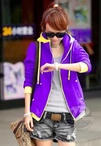 Áo khoác nữ Violet