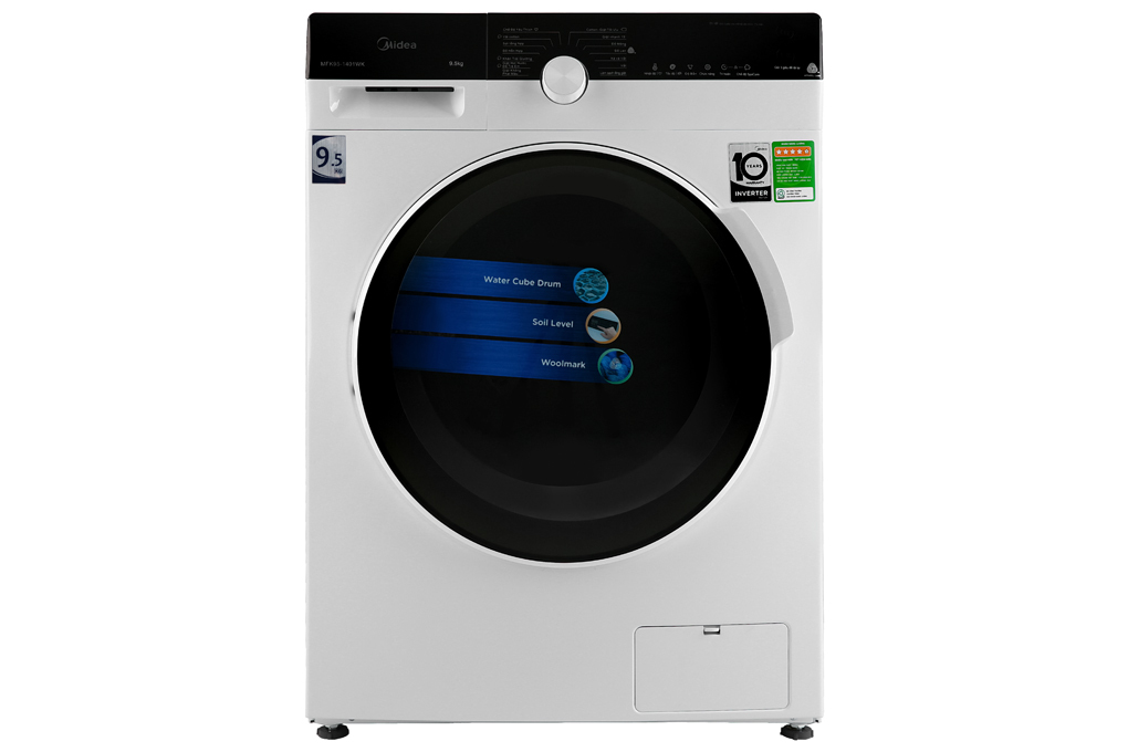 Máy giặt Midea MFK95-1401WK - 9.5 kg, Inverter