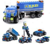 Đồ chơi lắp ráp xếp hình lego xe ô tô Kazi 6409