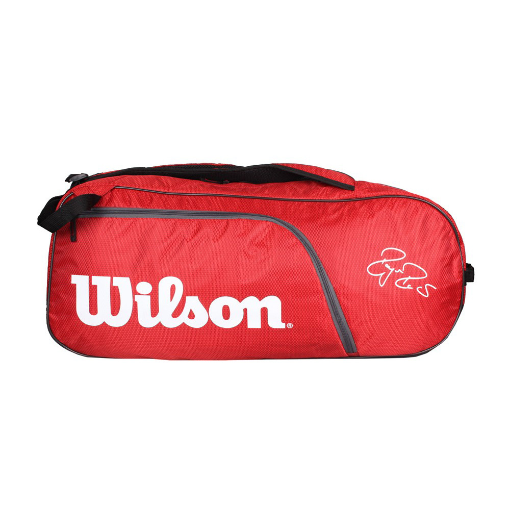 Túi tennis Wilson Roger Federer Team 6pack Wrz833506