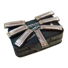 Bộ 7 chiếc kèn Harmonica Hohner Blues Bands M91105