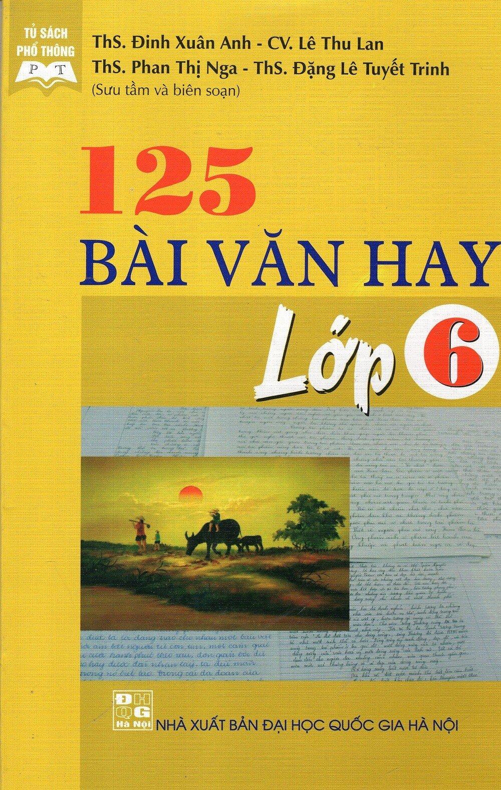 125 Bài Văn Hay Lớp 6