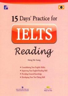 15 Days' practice for IELTS reading - Deng He Gang